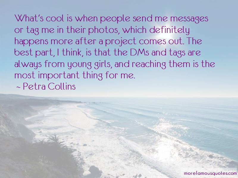 Petra Collins Quotes Pictures 2