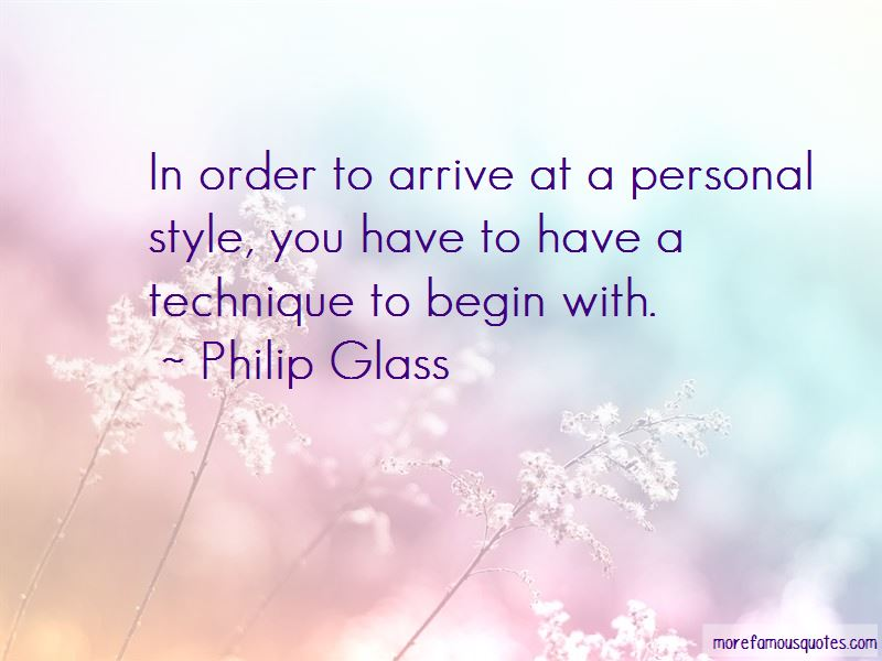 the life and style of philip glass