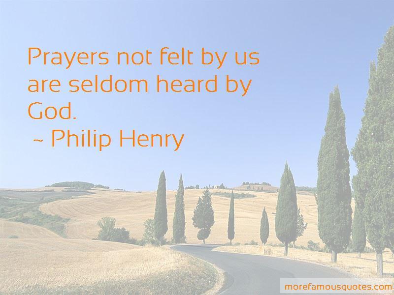 Philip Henry Quotes