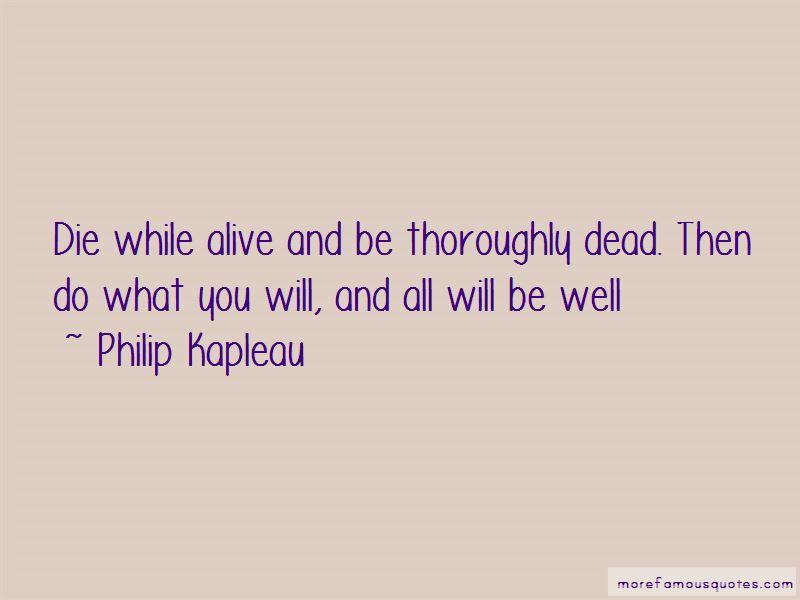 Philip Kapleau Quotes Pictures 2