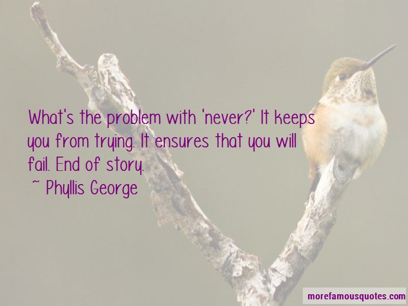 Phyllis George Quotes