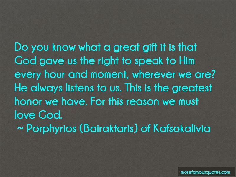 Porphyrios (Bairaktaris) Of Kafsokalivia Quotes Pictures 4