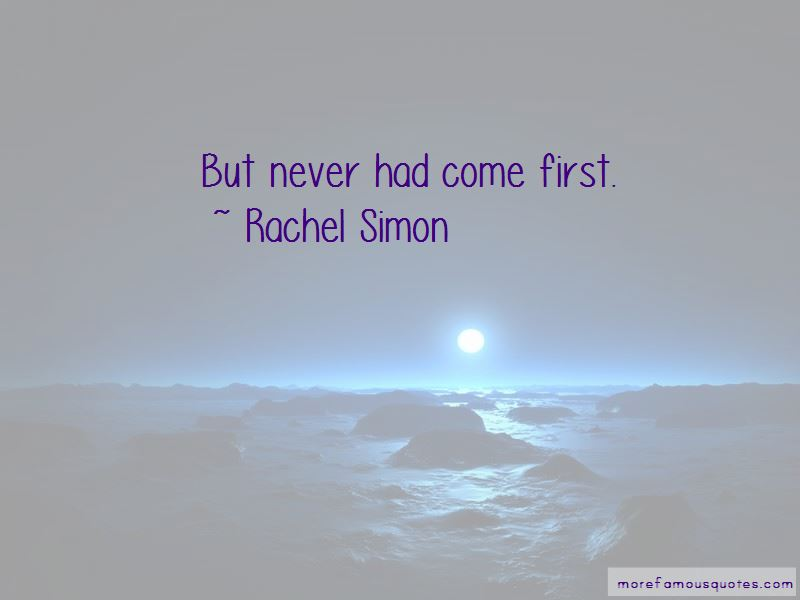 Rachel Simon Quotes Pictures 2