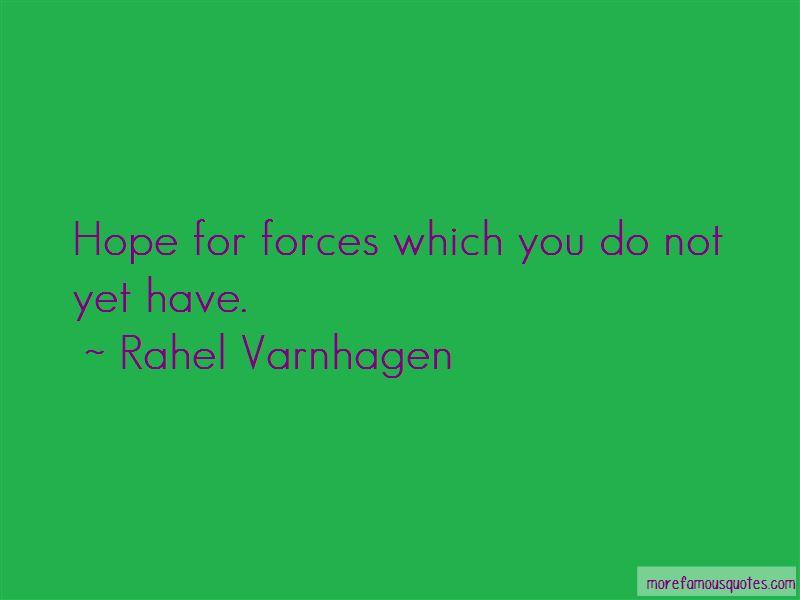 Rahel Varnhagen Quotes
