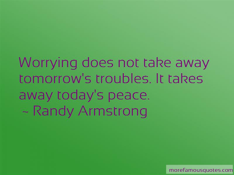 Randy Armstrong Quotes