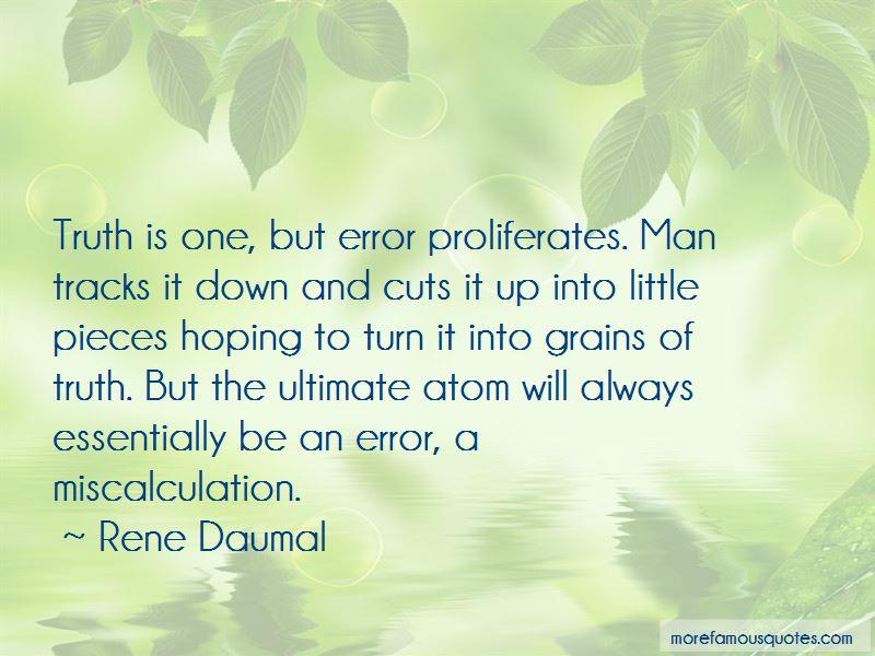 Rene Daumal Quotes Pictures 4