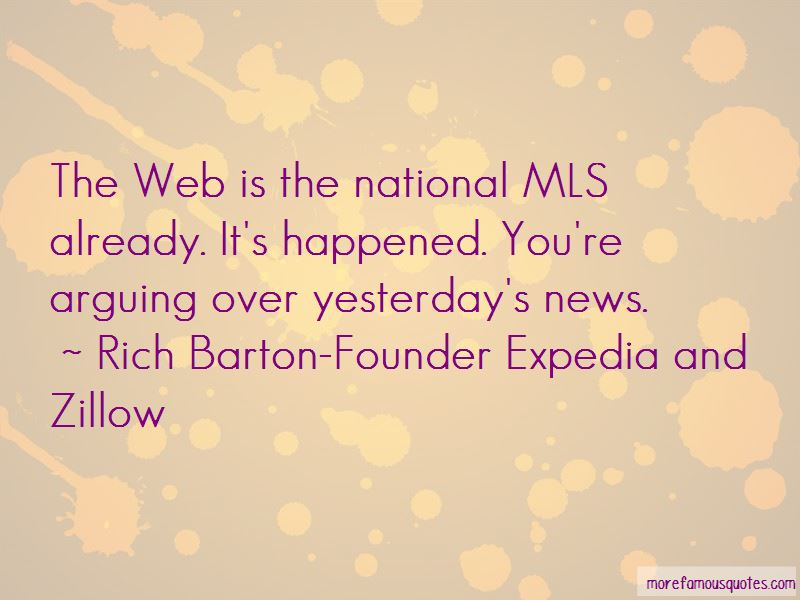 Rich Barton-Founder Expedia And Zillow Quotes