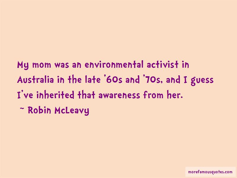 Robin McLeavy Quotes Pictures 3