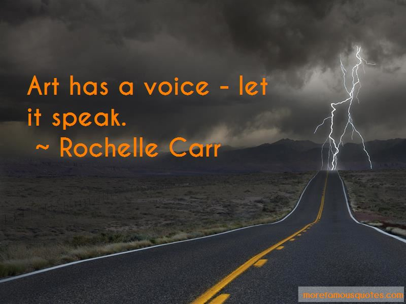 Rochelle Carr Quotes Pictures 2