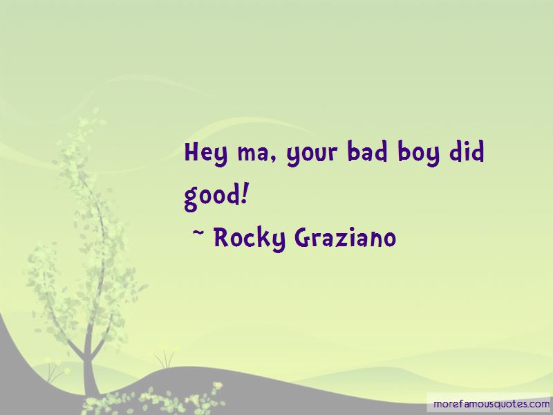 Rocky Graziano Quotes Pictures 4