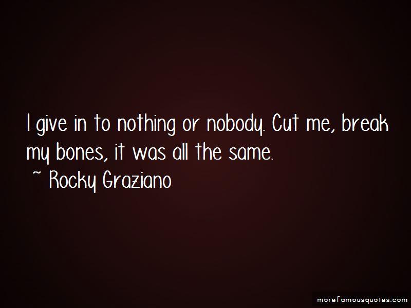 Rocky Graziano Quotes