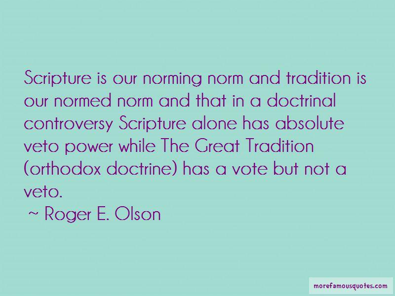Roger E. Olson Quotes
