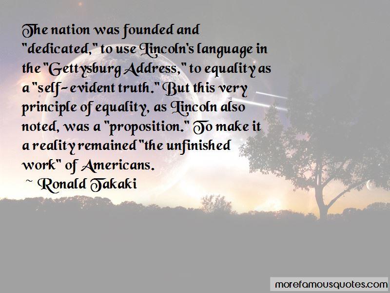 Ronald Takaki Quotes
