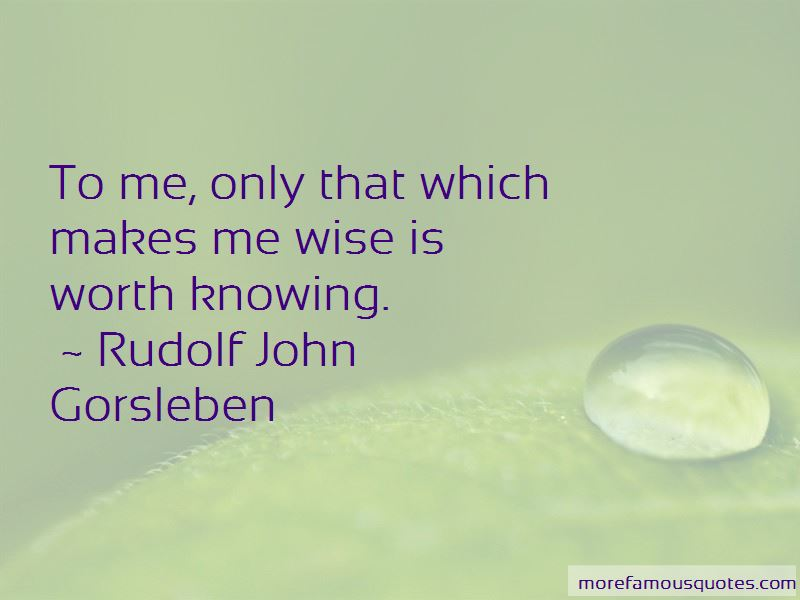 Rudolf John Gorsleben Quotes