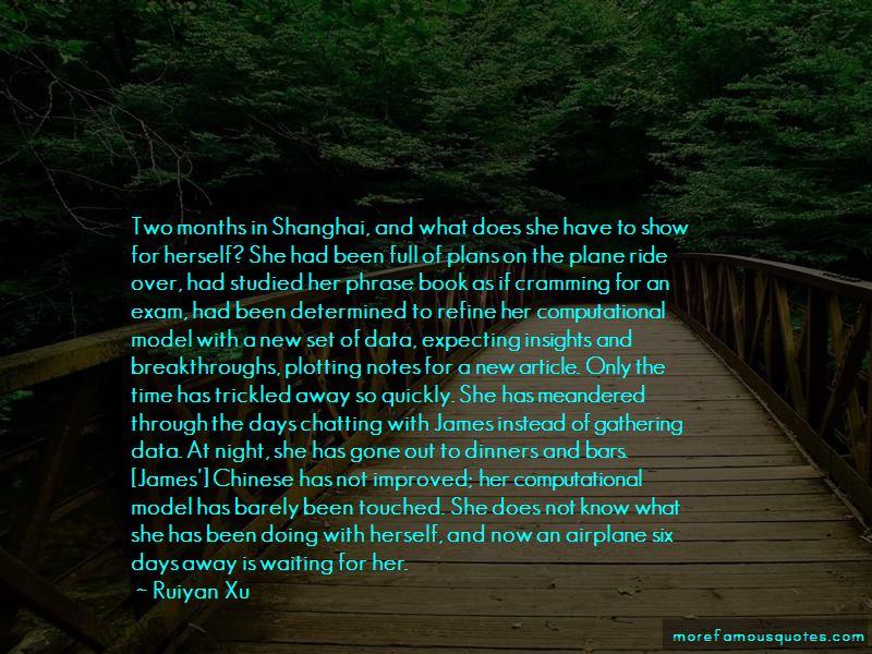 Ruiyan Xu Quotes