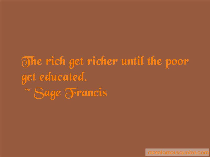 Sage Francis Quotes