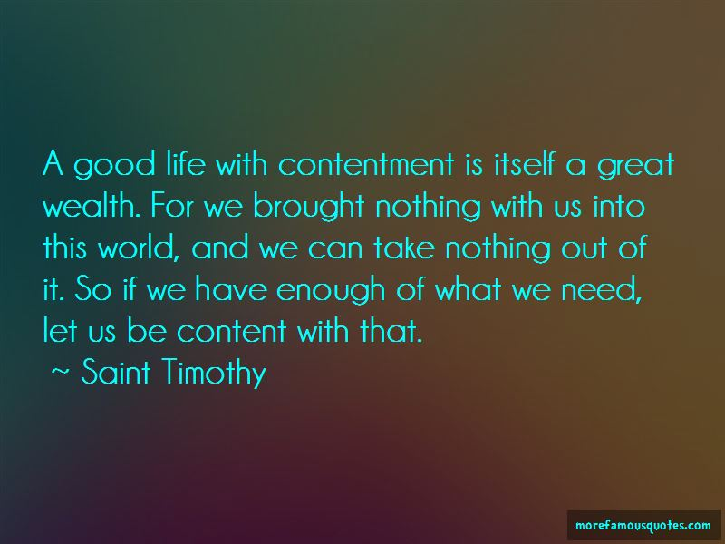 Saint Timothy Quotes Pictures 2