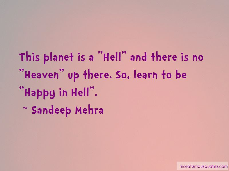Sandeep Mehra Quotes
