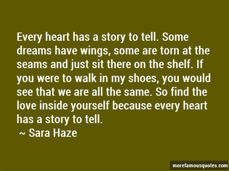Sara Haze Quotes