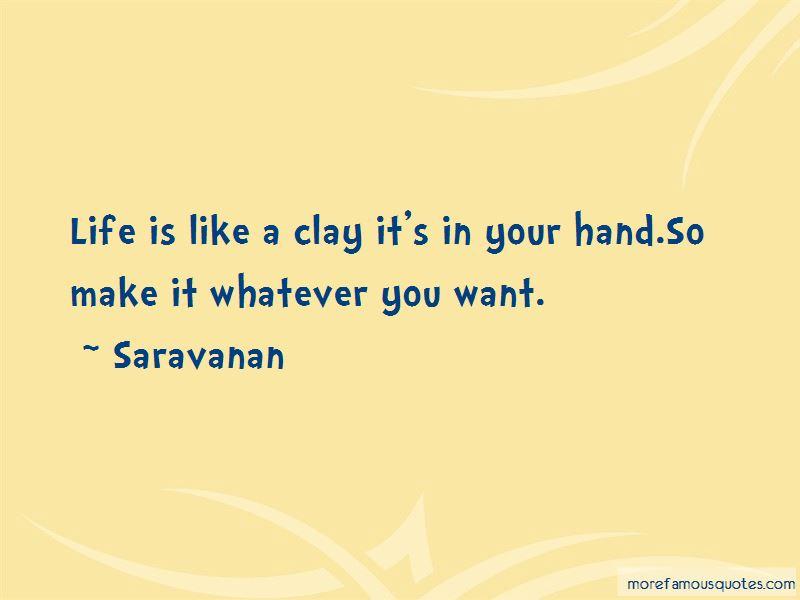 Saravanan Quotes Pictures 3
