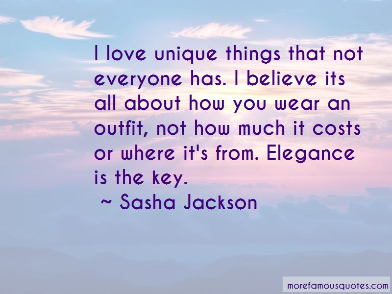 Sasha Jackson Quotes Pictures 3
