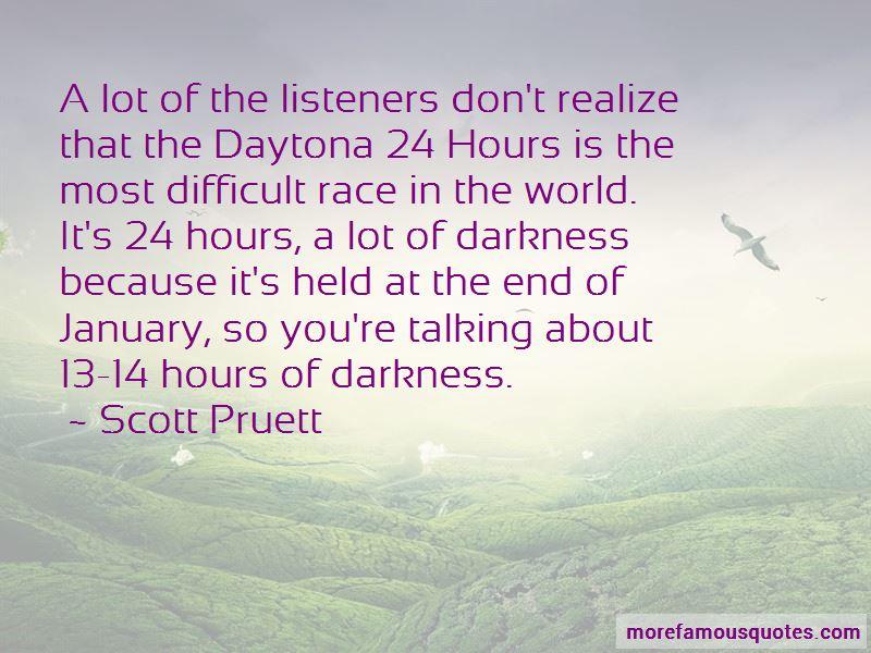 Scott Pruett Quotes
