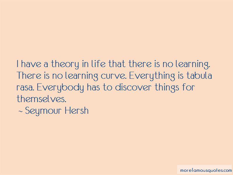 Seymour Hersh Quotes