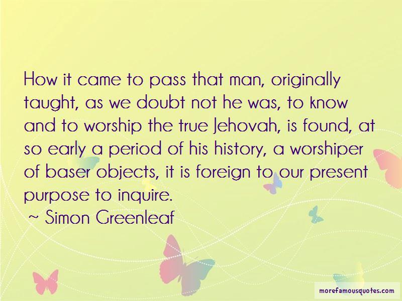 Simon Greenleaf Quotes Pictures 3