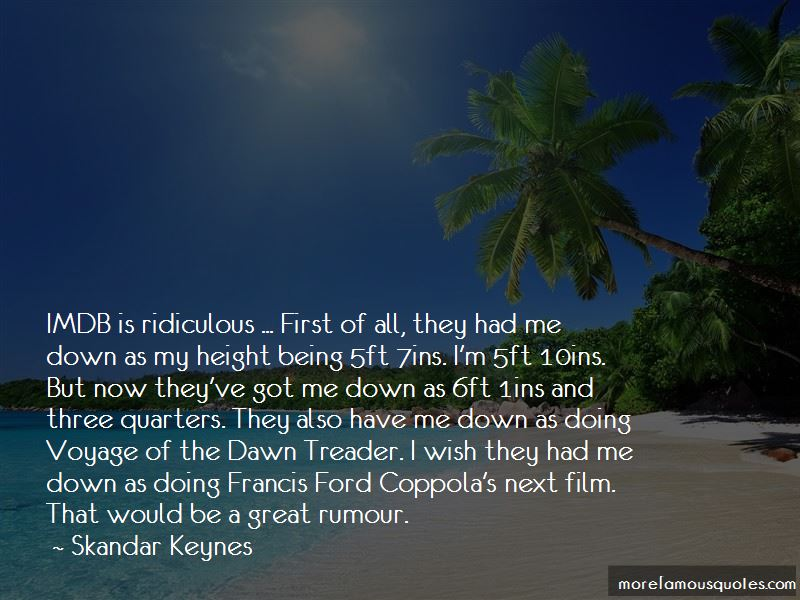 Skandar Keynes Quotes Pictures 4