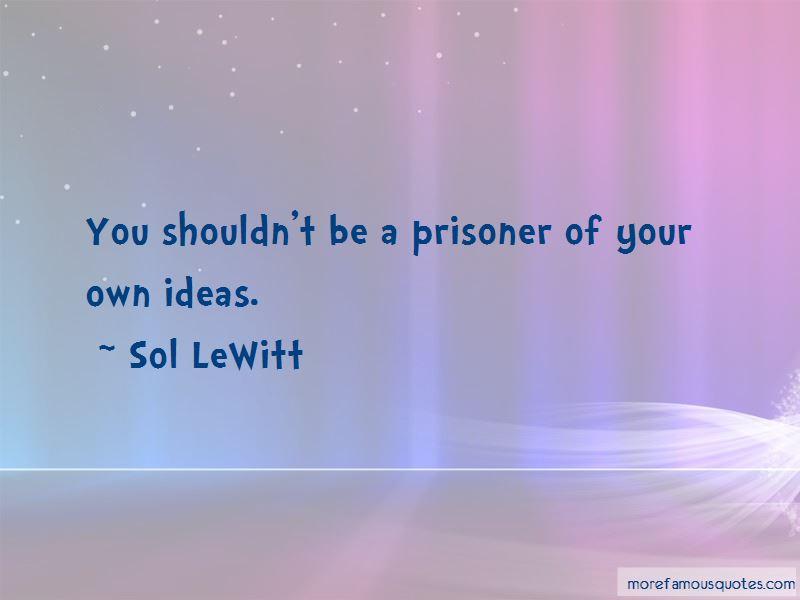 Sol LeWitt Quotes Pictures 2