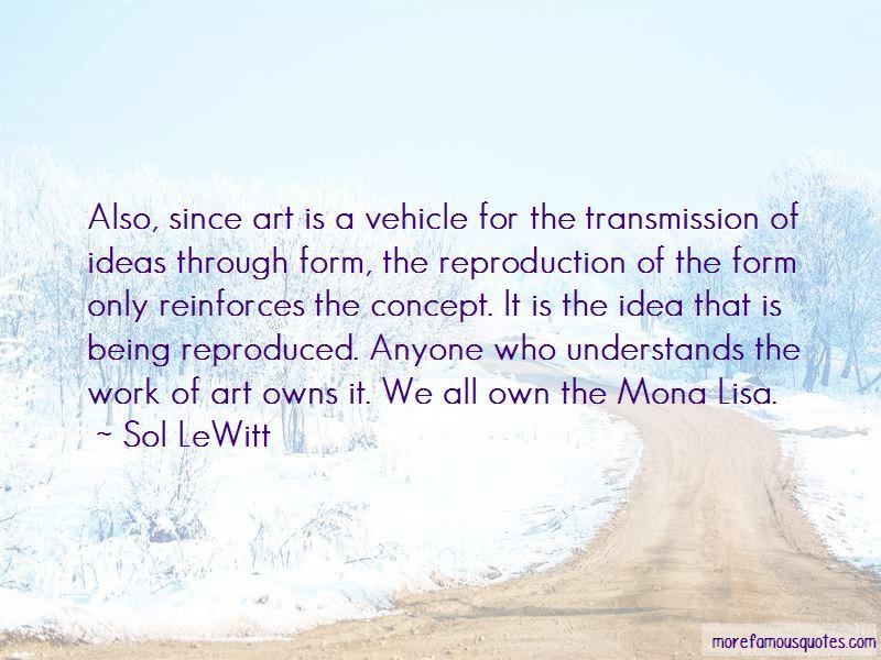 Sol LeWitt Quotes Pictures 3