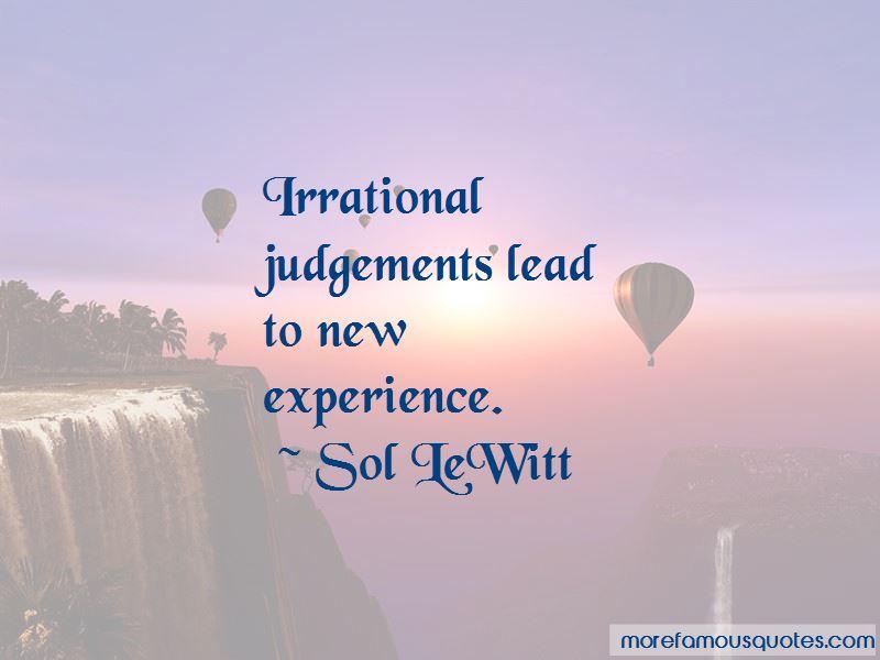 Sol LeWitt Quotes