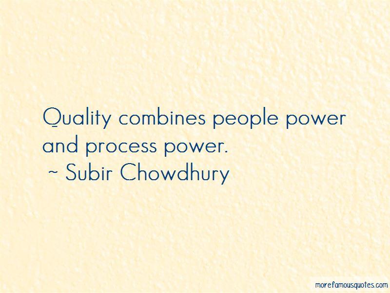 Subir Chowdhury Quotes