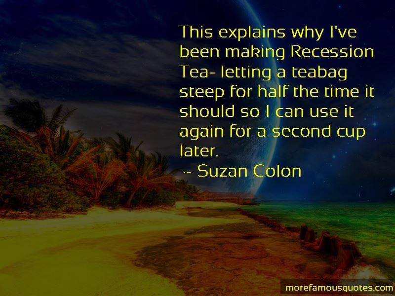 Suzan Colon Quotes