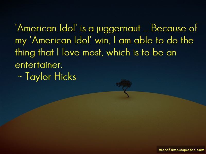 Taylor Hicks Quotes Pictures 4