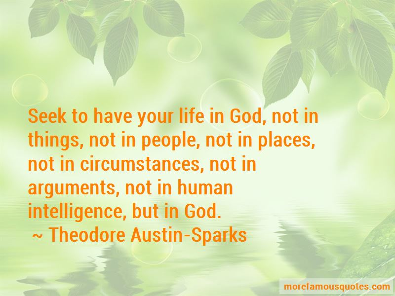 Theodore Austin-Sparks Quotes Pictures 4