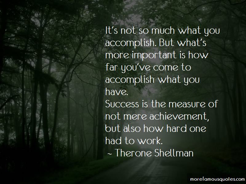 Therone Shellman Quotes Pictures 2