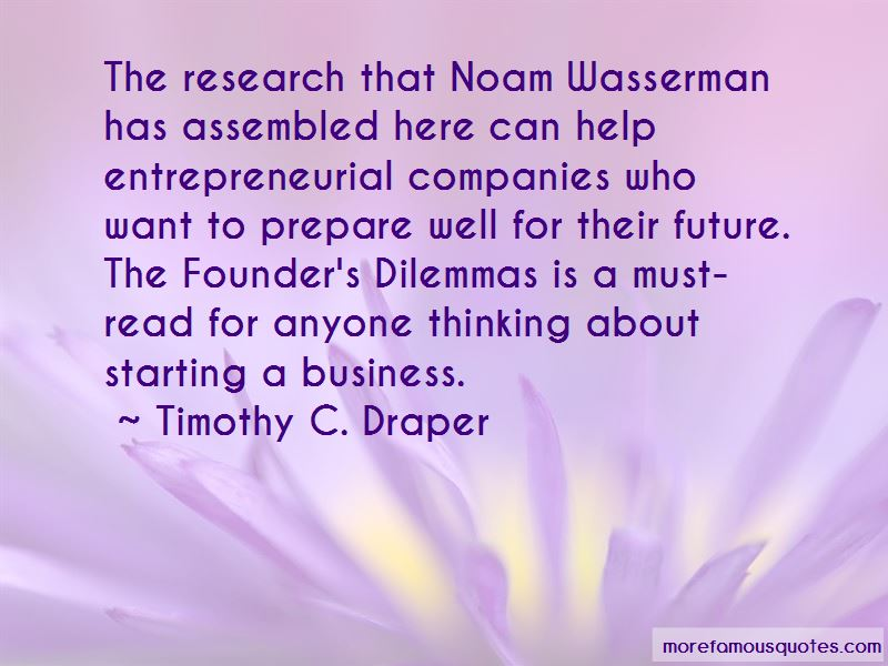 Timothy C. Draper Quotes Pictures 2