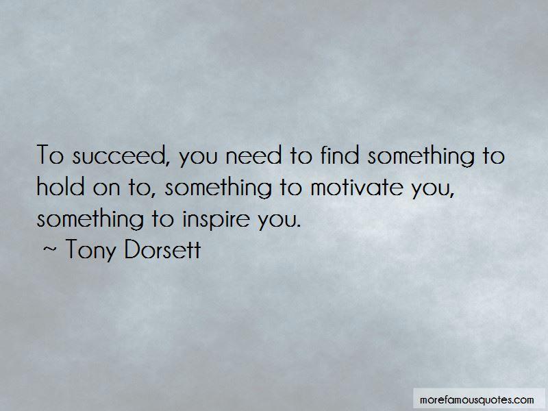 Tony Dorsett Quotes