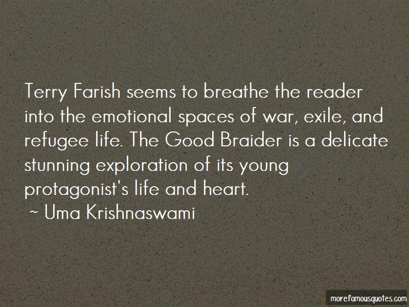 Uma Krishnaswami Quotes