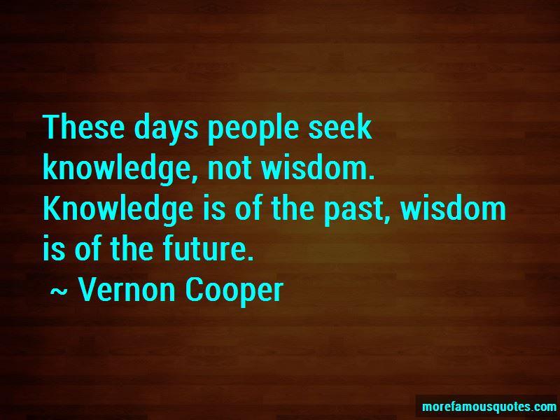 Vernon Cooper Quotes Pictures 2