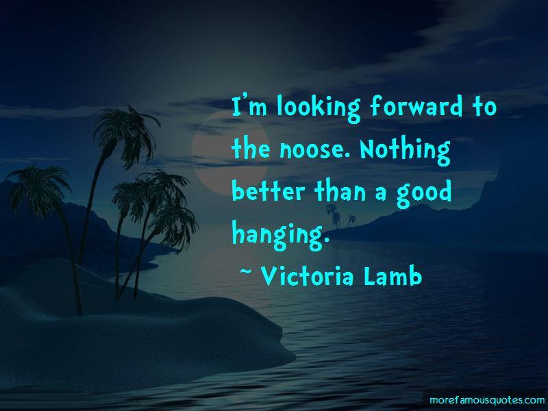 Victoria Lamb Quotes Pictures 3