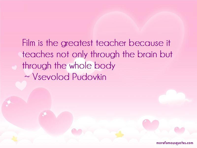 Vsevolod Pudovkin Quotes Pictures 2