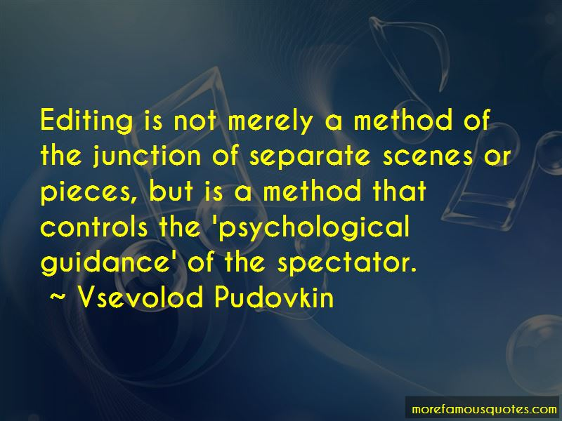 Vsevolod Pudovkin Quotes