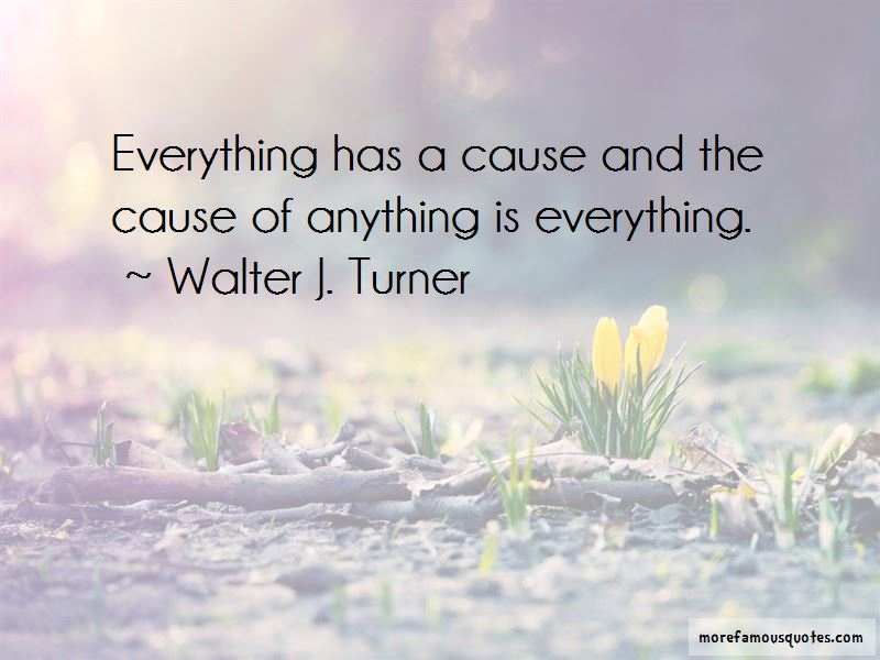 Walter J. Turner Quotes