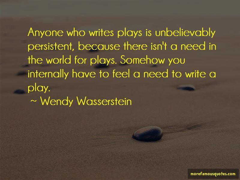 Wendy Wasserstein Quotes Pictures 4