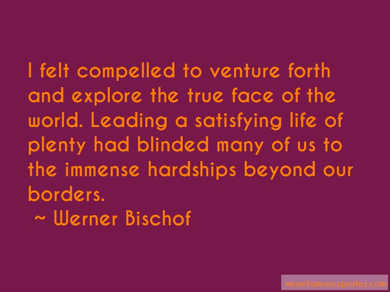 Werner Bischof Quotes