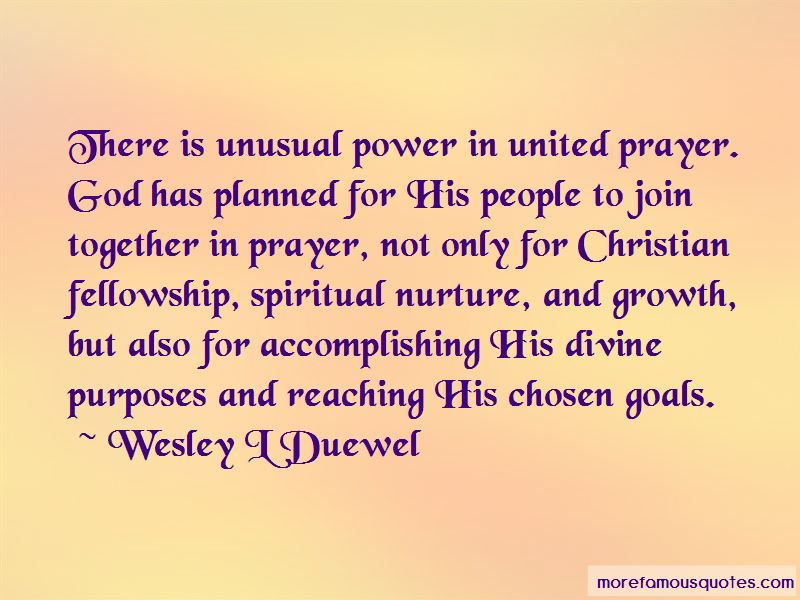 Wesley L Duewel Quotes