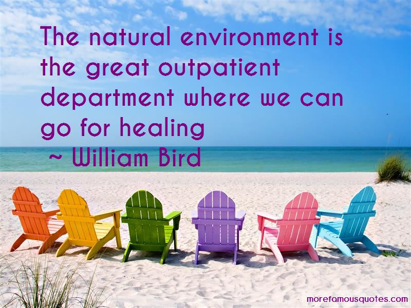William Bird Quotes