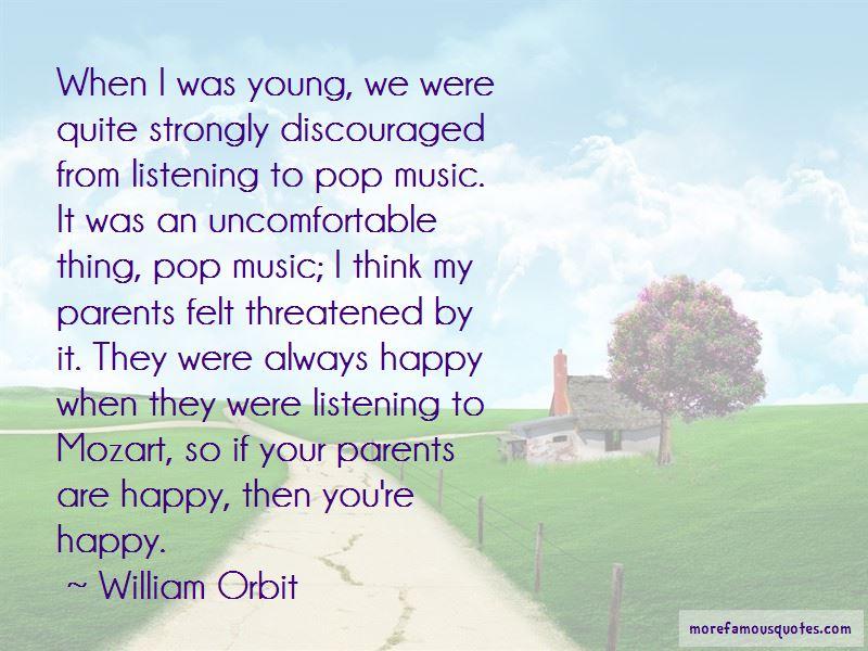 William Orbit Quotes